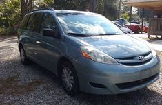 2005 Blue-silver Toyota Sienna for sale