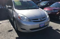 2008 Silver Toyota Sienna for sale
