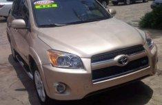 Toyota RAV4 2009 Gold for sale