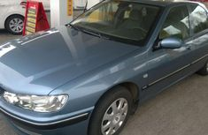2002 Blue-silver Peugeot 406 for sale
