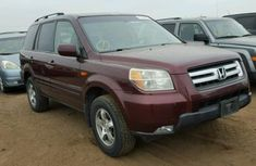 Honda Pilot 2006 Red-wine for sale