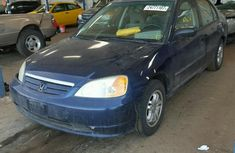 2003 Honda Civic Blue for sale