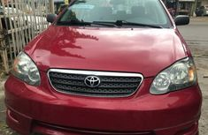 2005 Red Toyota Corolla for sale