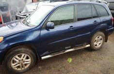 Neatly Used Toyota RAV4 2003 Blue for sale