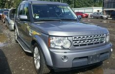 Land Rover Lange Rover Vogue 2010 silver for sale