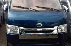 TOYOTA HIACE BUS 2013 BLUE FOR SALE