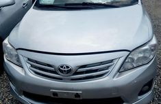 Neatly Used Toyota Corolla 2012 Silver for sale