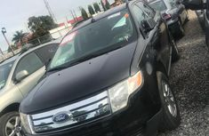 Clean Ford Edge 2010 Black for sale