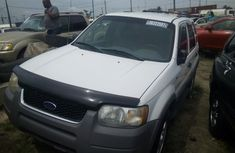 Ford Escape XLT 2002 White for sale