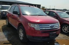Red 2010 Ford Edge for sale