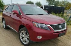 Lexus RX 450 2010 Red for sale