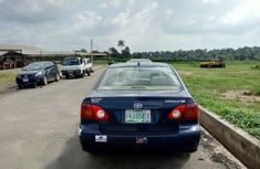 Toyota Corolla 2004 Blue for sale