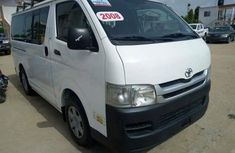 2008 White Toyota HiAce bus for sale