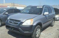 2004 Honda CRV Silver for sale