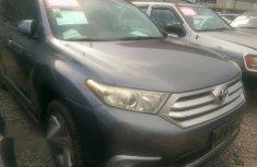 Toyota Highlander 2012 Gray for sale