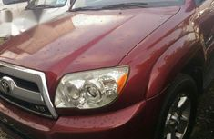 Toyota 4runner 2007 Red for sale