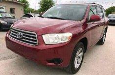 Toyota Highlander 2009 Red for sale