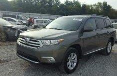 Toyota Highlander 2011 Grey for sale