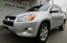 Toyota RAV4 2009 Silver for sale
