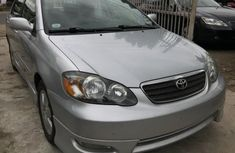 2006 Silver Toyota Corolla for sale