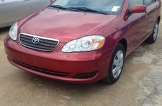 2006 Toyota Corolla Red for sale