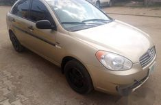 Hyundai Accent 2010 Gold for sale