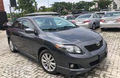Toyota Corolla S 2009 Gray for sale