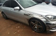 Mercedes-Benz C63 2012 Silve for sale