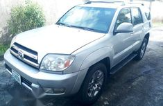 Toyota 4Runner 2005 SIlver for sale