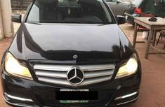 Mercedes-Benz C200 2012 Black for sale