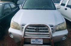 Toyota Highlander 2001 Silver for sale