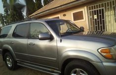 Toyota Sequoia 2002 Silver for sale