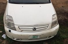 Honda Stream 2005 White for sale