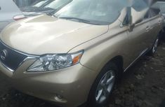 Lexus Rx350 2011 Gold for sale