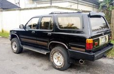 Clean Toyota 4runner 1986 Black for sale