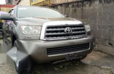 Toyota Sequoia 2012 Gray for sale