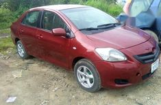 Clean Toyota Yaris 2007 Red for sale