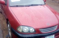 Toyota Avensis 2000 Red for sale