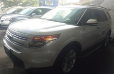 Ford Explorer 2012 White for sale