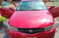 Toyota Solara 2001 Red for sale