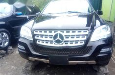 Mercedes Benz ML350 2010 Black for sale