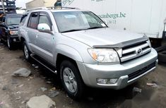 Toyota 4-Runner 2004 Silver for sale