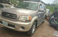 Toyota Sequoia 2004 Silver for sale