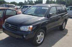 Toyota Highlander 1993 Black for sale