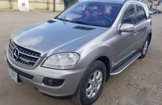 Mercedes Benz Ml350 2006 Gray for sale
