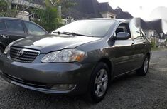 Toyota Corolla S 2006 Gray for sale