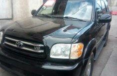 Toyota Sequoia 2002 Black for sale