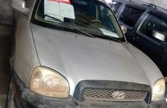 Hyundai Sante 2002 Silver for sale