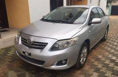 Registered Toyota Corolla 2008 Silver For Sale