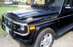 Mercedes Benz G500 2011 Black for sale